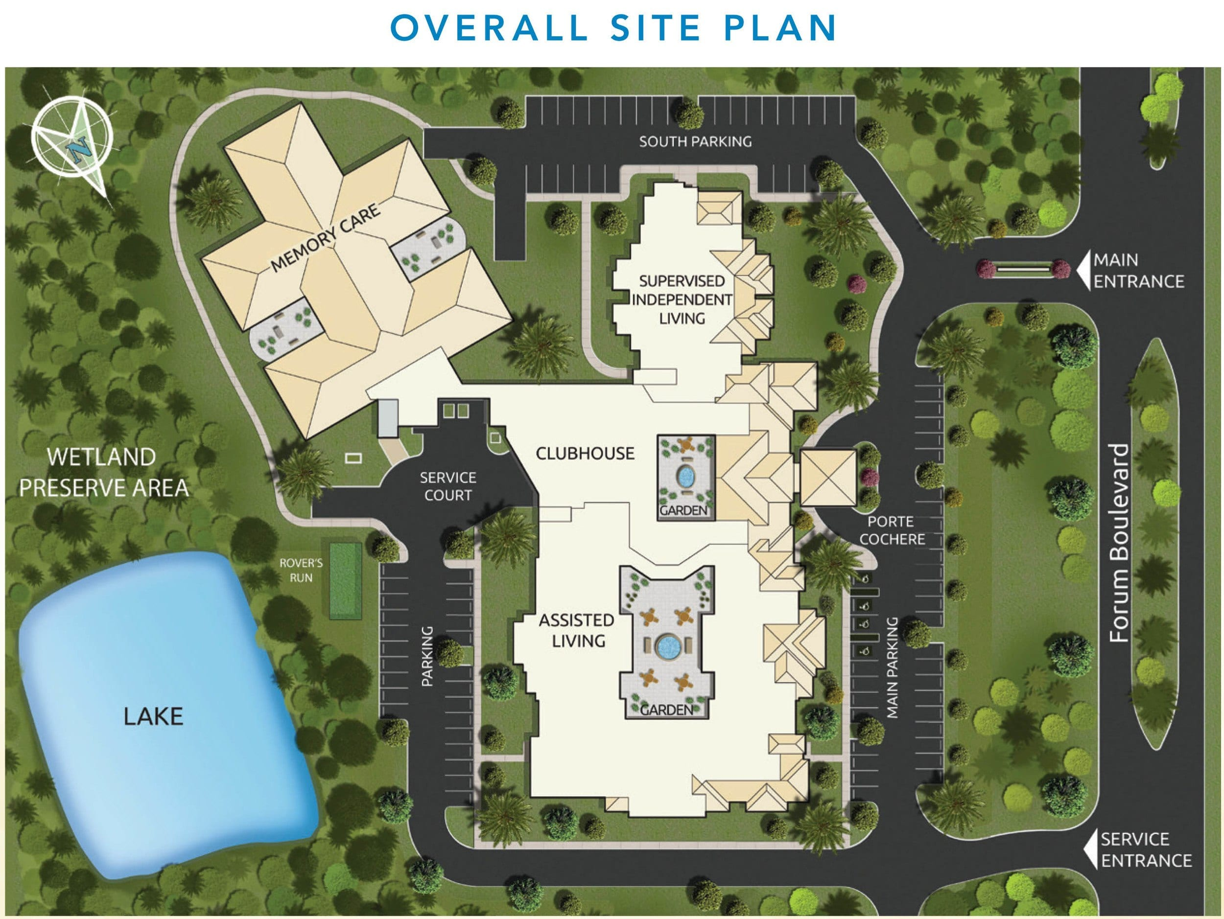 Floor plans discovery village at the forum for Retirement village house plans