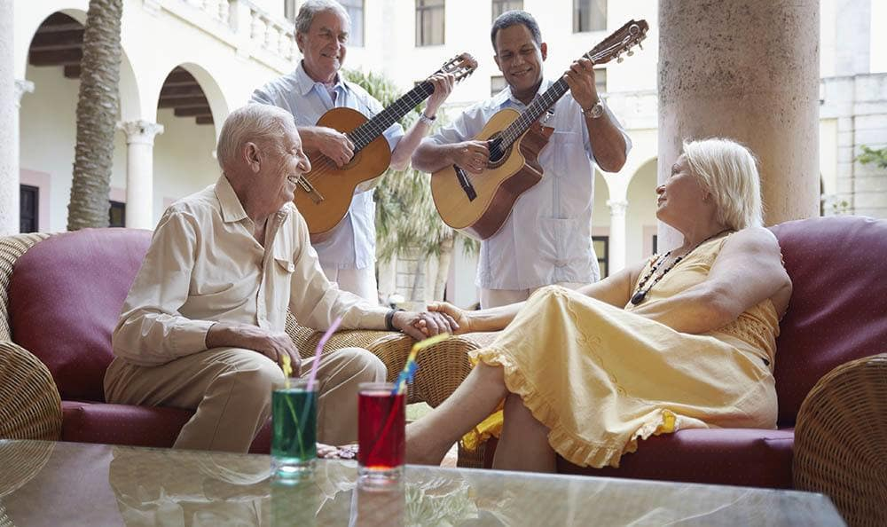 Residents of Fort Myers senior living