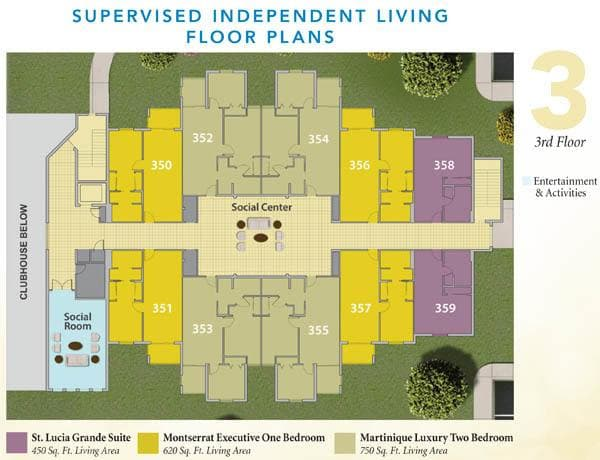 Supervised independent senior living in Fort Myers