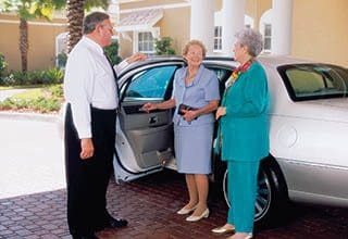 Senior living transportation in Suwanee.