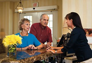 The concierge service for our Bradenton senior living residents anticipates every need