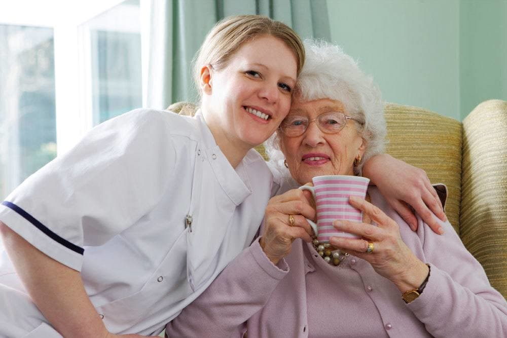 Senior living residents at our community in Tampa receive care from genuine, professional staff
