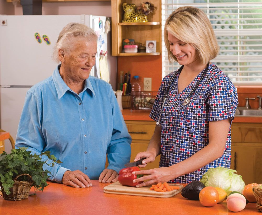 Our senior living community in Palm Beach Gardens offers assistance with meal preparation