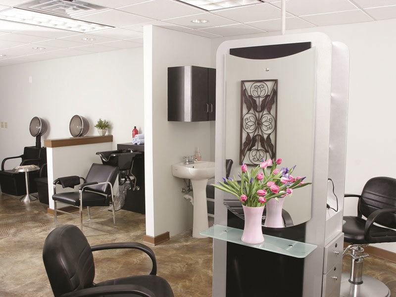 Suwanee senior living offers a private beauty salon