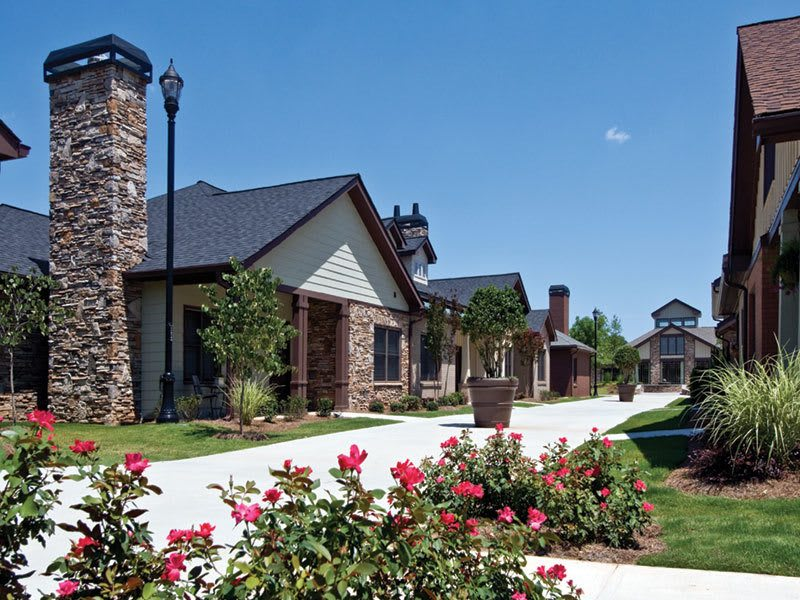 Cottages for Suwanee senior living residents