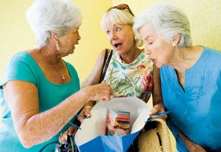 Activities for senior residents in Allen include shopping