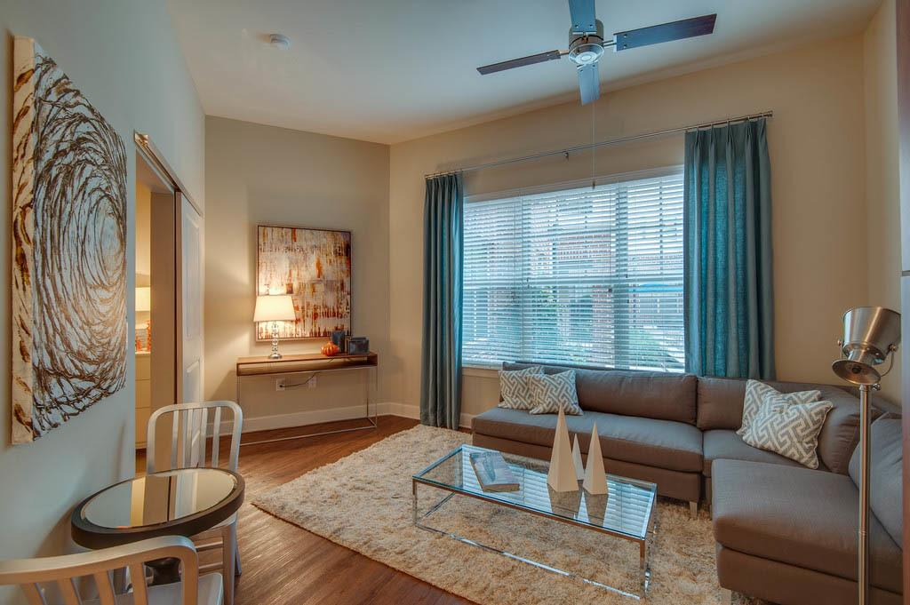 Open living room at West End Village