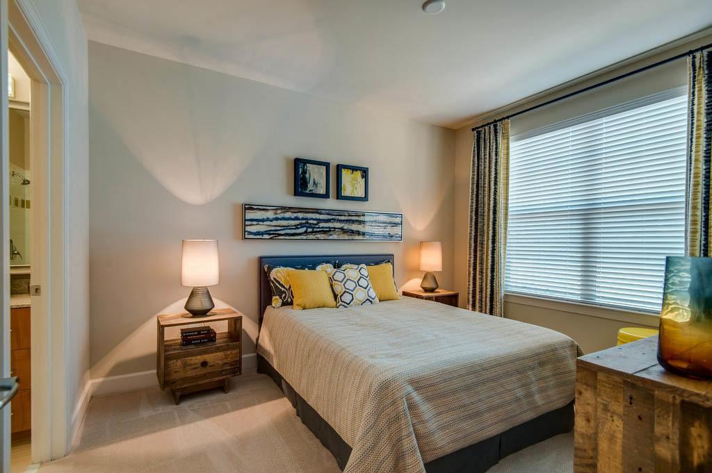 West End Village master bedroom