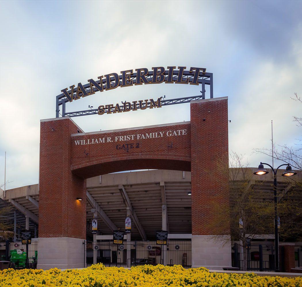 Vanderbilt University near West End Village