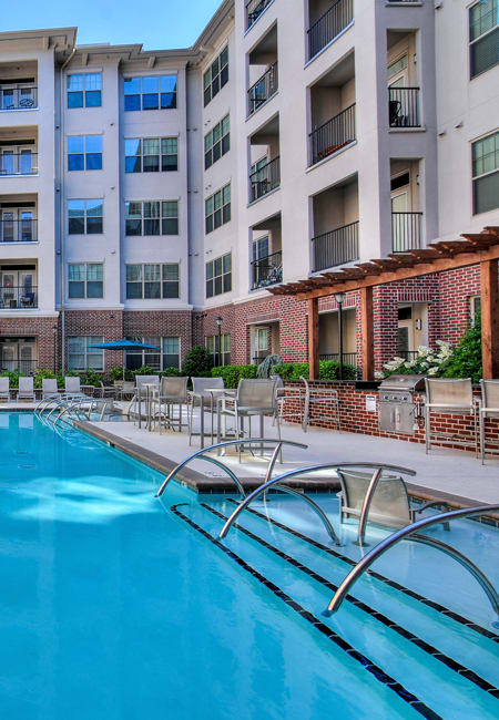 Swimming Pool at West End Village in Nashville, TN