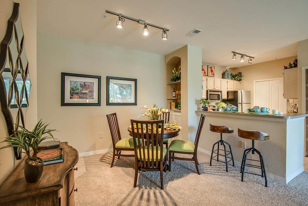 Open floor plans at Legacy on the Bay in Destin