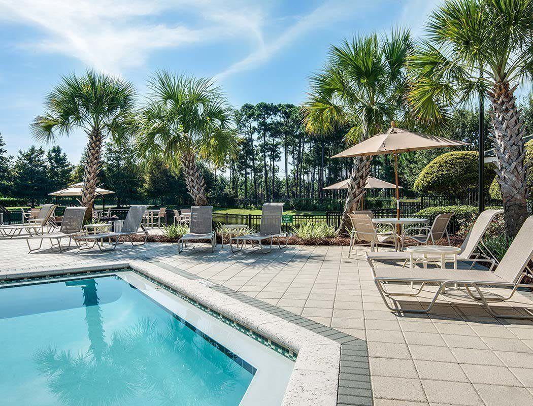 Legacy on the Bay resort style pool in Destin