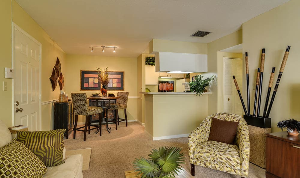Large Open Living Space At Bay Oaks