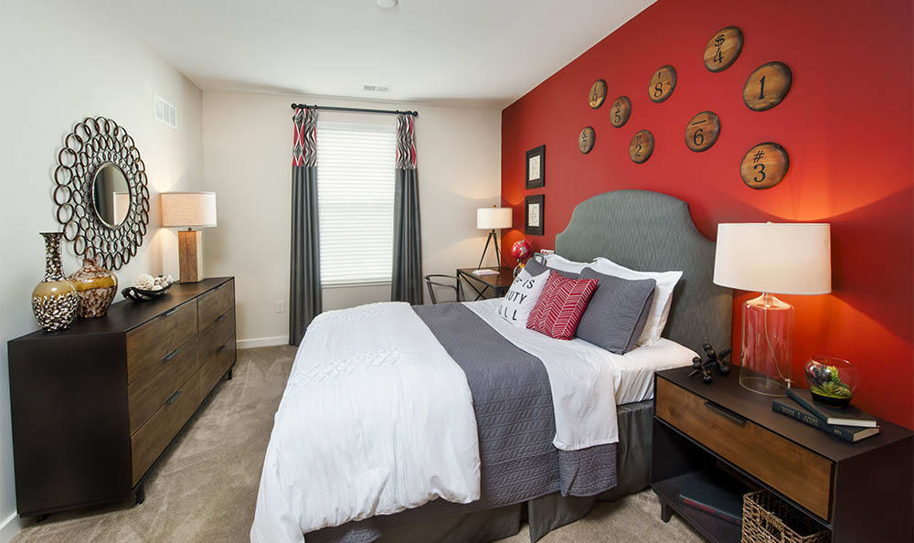 Bedroom At Lane Parke Apartments in Mountain Brook
