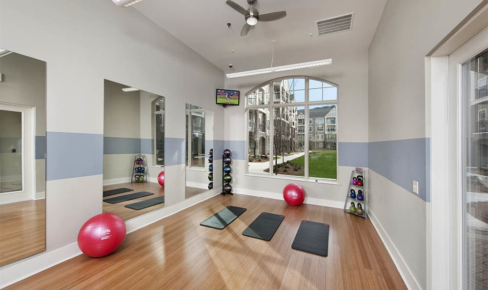 Lane Parke Apartments Fitness Room