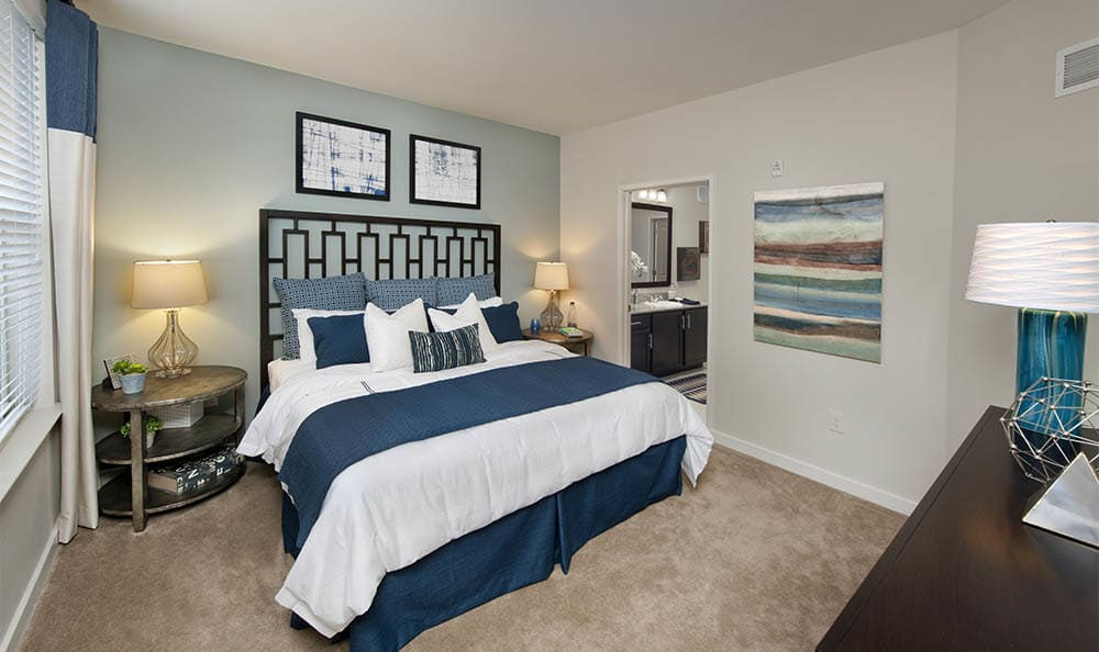 Master Bedroom At Lane Parke Apartments