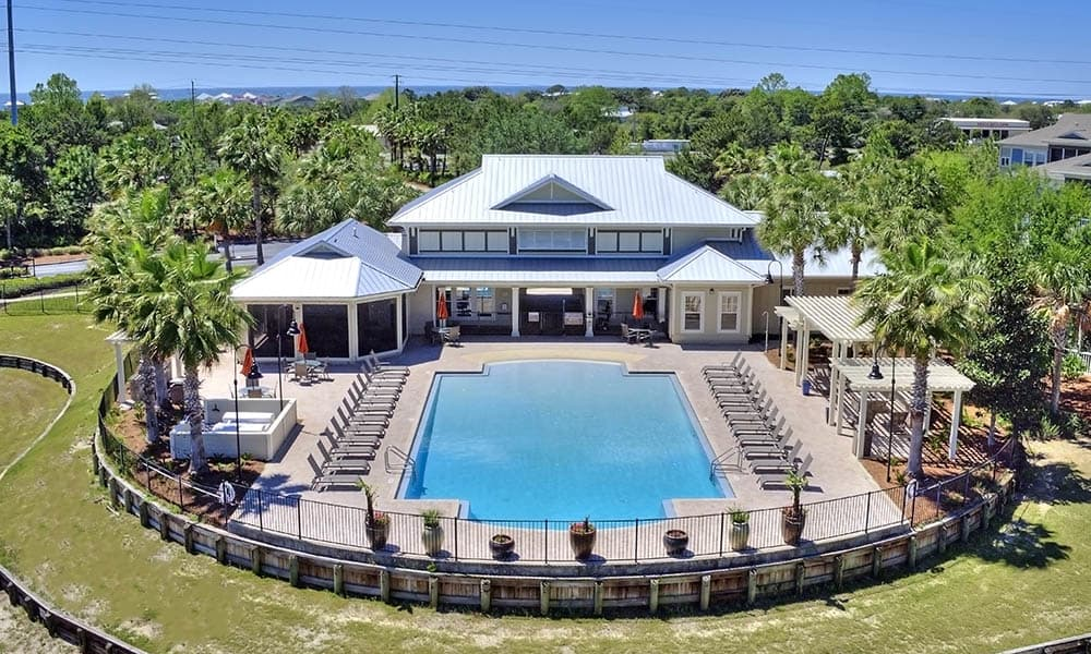 Aerial View Of The Retreat at PCB Recreation Center