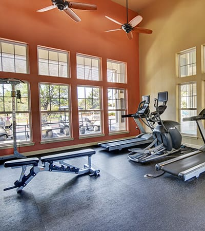 Fitness center at The Retreat at PCB in Panama City Beach