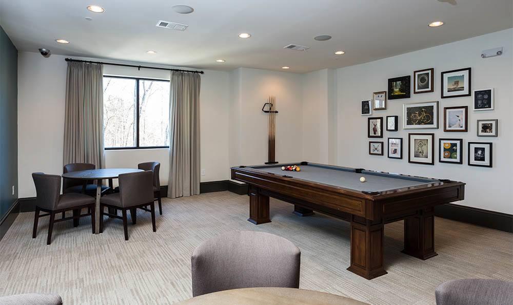 Billiards Room At Station 92 at Woodstock