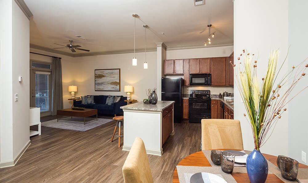 Open Floor Plans At Station 92 at Woodstock