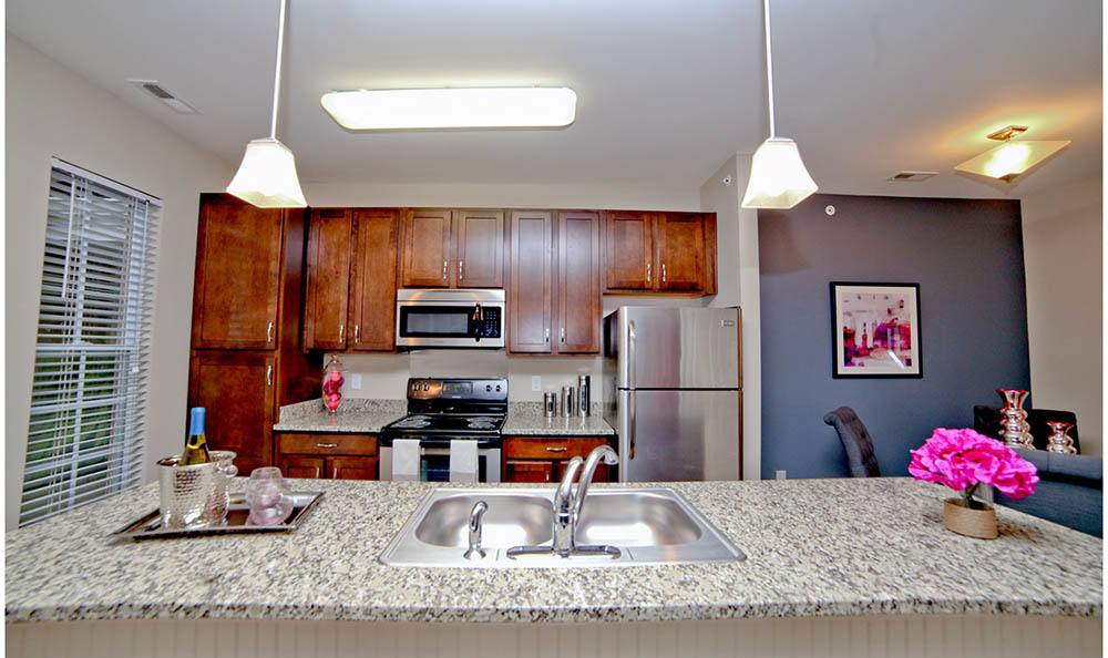 Stainless Steel Appliances At Cumberland Pointe