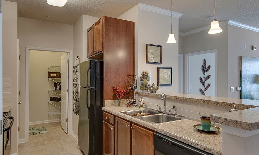 Kitchen Pantry At Legacy at Wakefield
