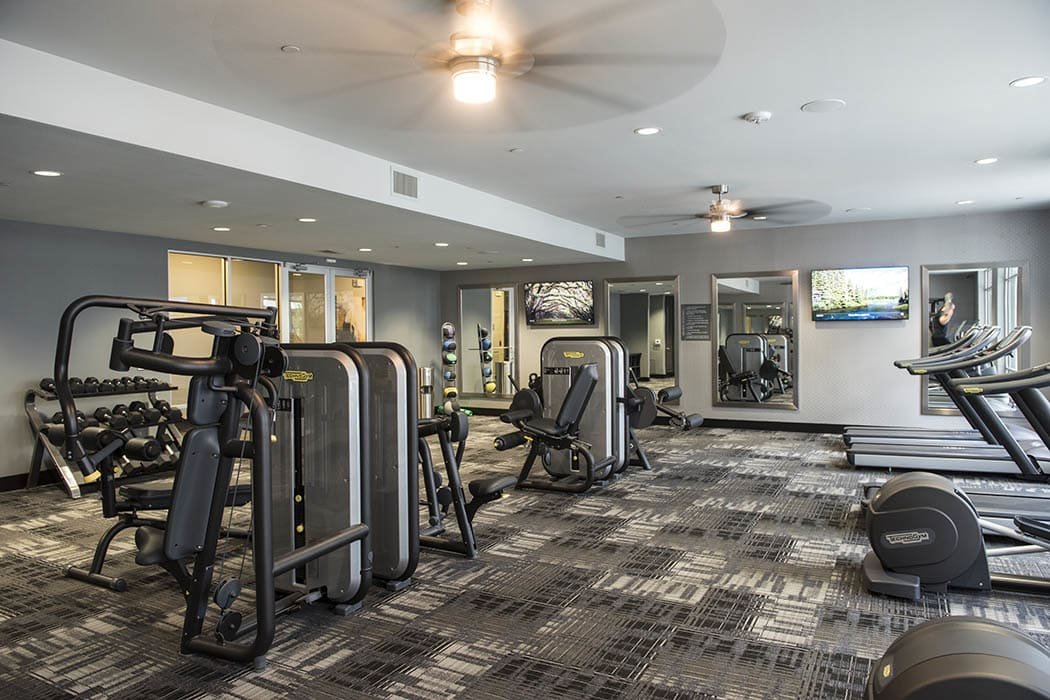 Gym at Anthem Cityline in Richardson