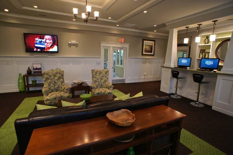 Clubhouse At Preserve at Steele Creek In Charlotte
