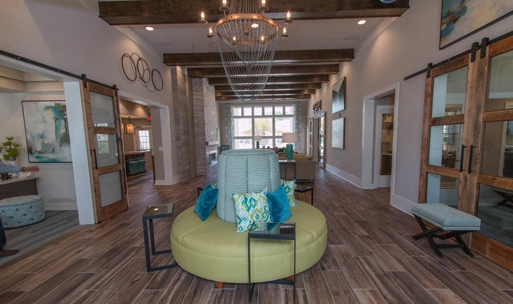 Clubhouse Lobby At Parc at Broad River
