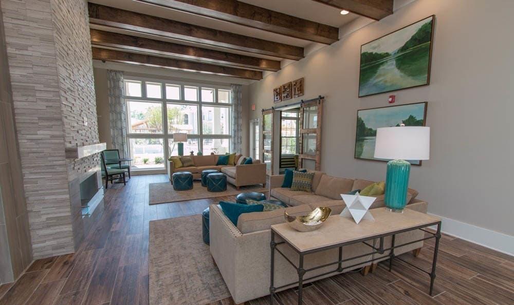 Clubhouse Seating Area At Parc at Broad River
