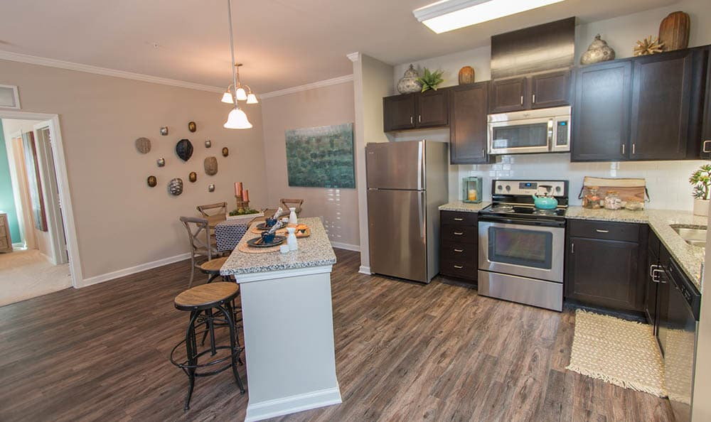 Spacious Kitchen At Parc at Broad River