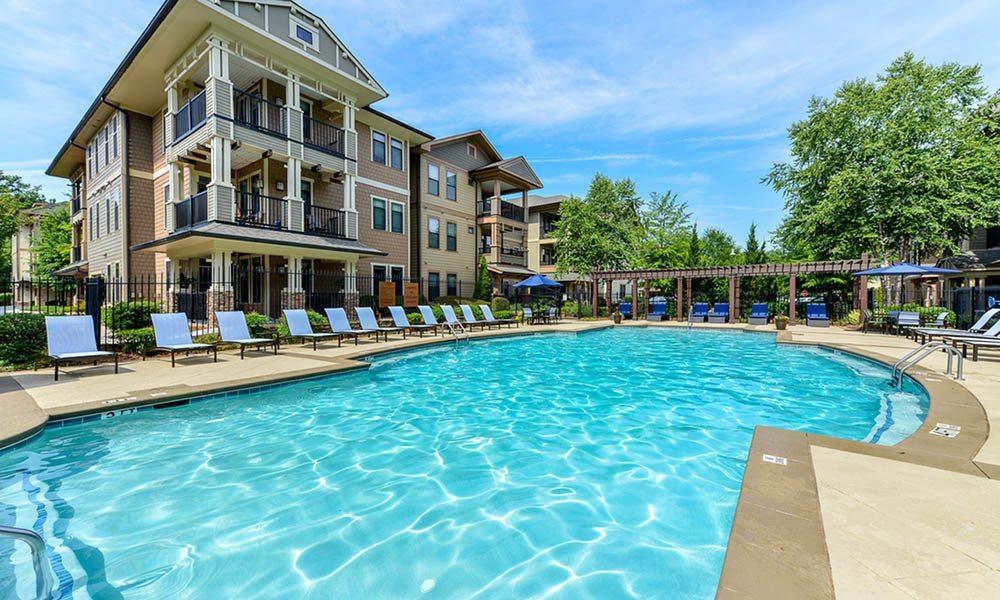 Resort Style Pool At The Reserve at Johns Creek Walk