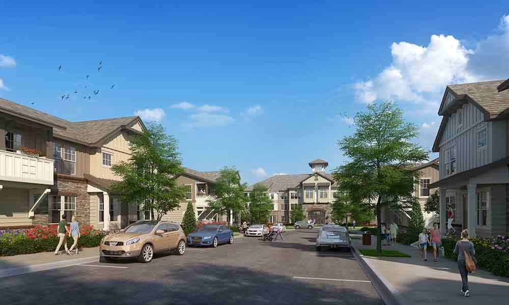 Brookson Resident Flats Neighborhood Rendering