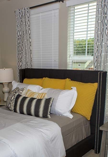 Beautiful bedroom at Brookson Resident Flats in Huntersville