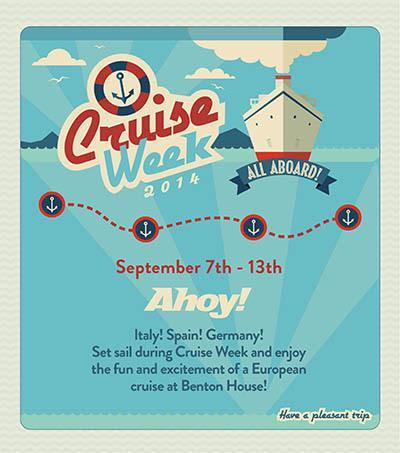 Cruise Week - activities at Benton House of West Ashley in Charleston, SC