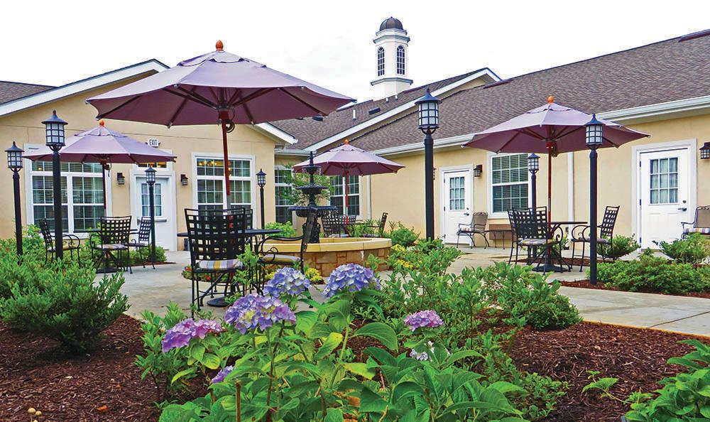 Courtyard at Decatur, GA Senior living
