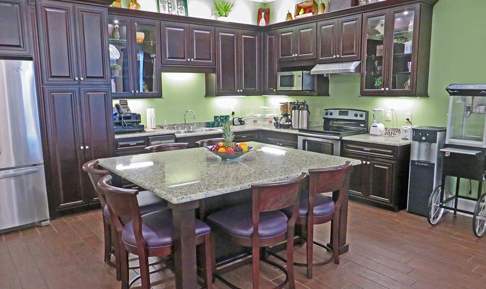 Spacious kitchen at Decatur, GA Senior living
