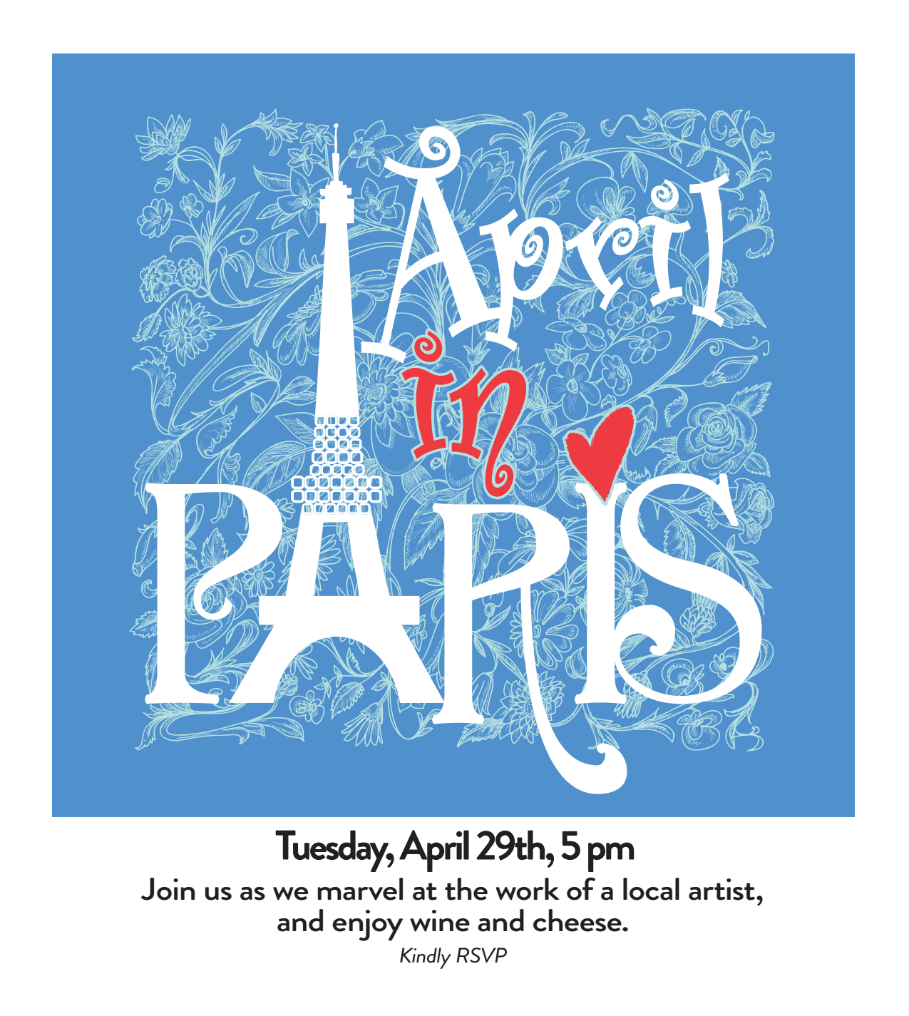 April In Paris - activities at Benton House of Staley Hills in Kansas City, MO