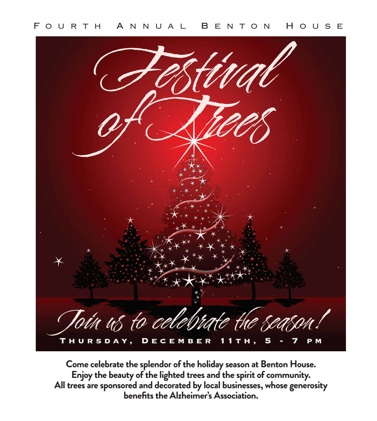 Festival of Trees - activities at Benton House of Raymore in Raymore, MO
