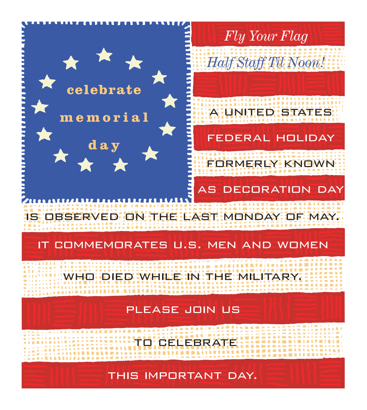 Celebrate Memorial Day - activities at Benton House of Raymore in Raymore, MO