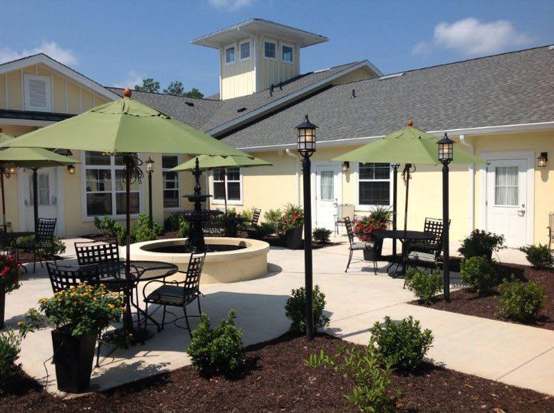 Lounge at Benton House of Augusta