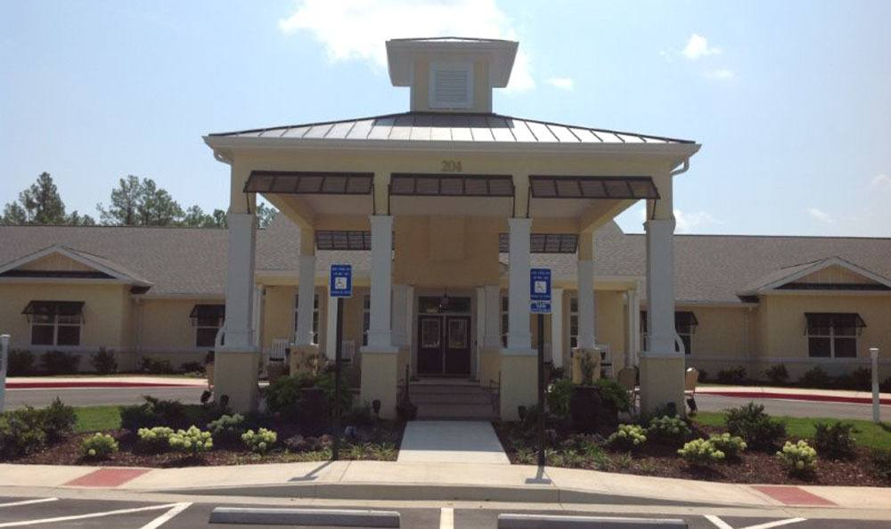 Exterior of Benton House of Augusta in Augusta, GA