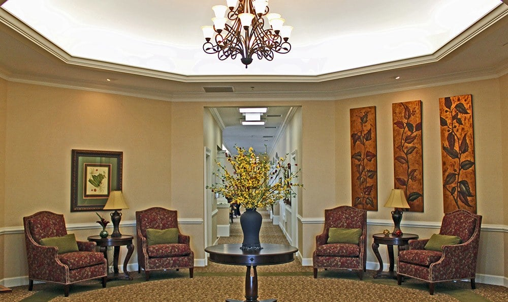 Lobby at Benton House of Douglasville in Douglasville, GA