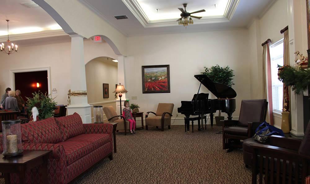 Piano at Benton House of Newnan in Newnan, GA