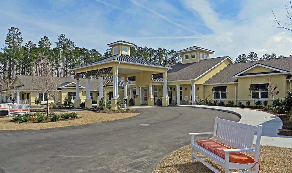 Entry way at Benton House of Bluffton in Bluffton, SC