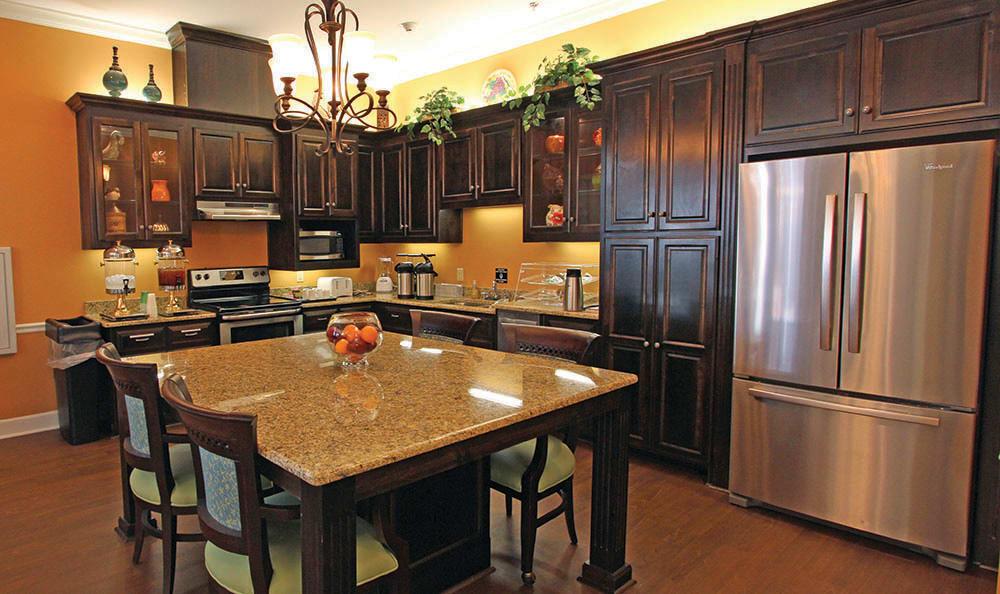 Kitchen at Benton House of Tiffany Springs in Kansas City, MO