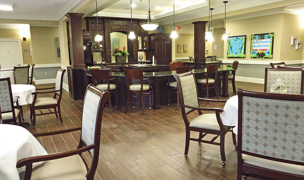 Kitchen at Benton House of Grayson in Grayson, GA