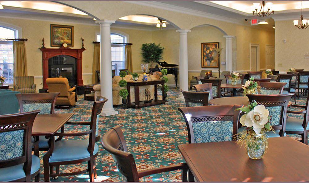 Group Dining room at Benton House of Sugar Hill in Sugar Hill, GA