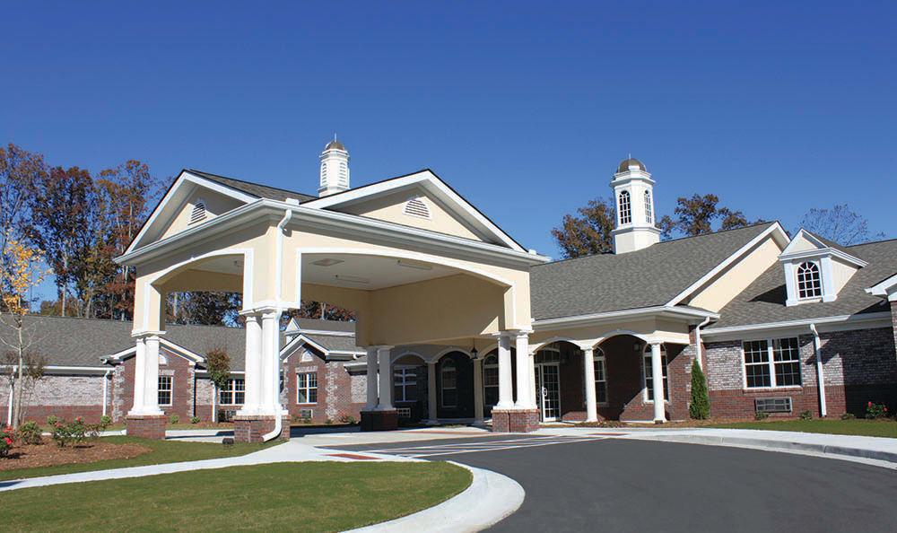 Exterior of Benton House of Sugar Hill in Sugar Hill, GA