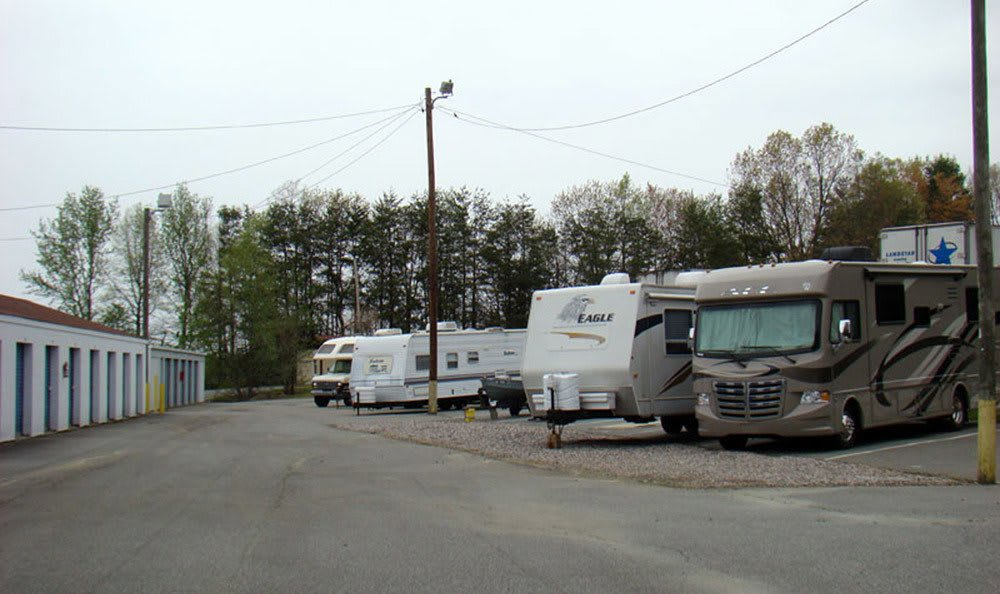 Boat and RV storage at High Point personal storage